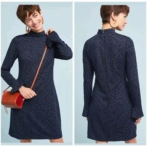 Anthropologie Hutch Bell Sleeve Dress XS